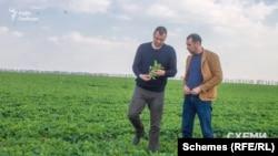 Ще у квітні 2019 року Микола Кириченко перевіряв стан посівів на полях господарства