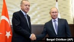 Путин һәм Эрдоган Сочида