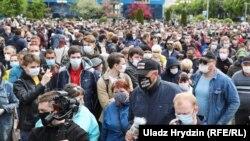 Сбор подписей в Минске