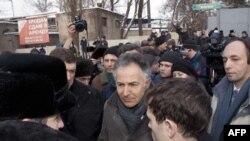 Французький посол з прав людини Франсуа Зімере, Харків, 18 січня 2012 року