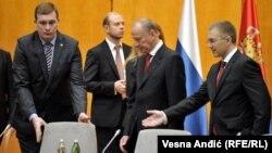 Gest pažnje: Sekretar Saveta bezbednosti Ruske federacije Nikolaj Patrušev i ministar unutrašnjih poslova Srbije Nebojša Stefanović