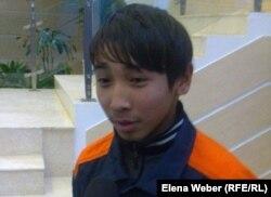 Данияр Ергеш, студент первого курса темиртауского политехнического колледжа. Темиртау, 6 ноября 2012 года.
