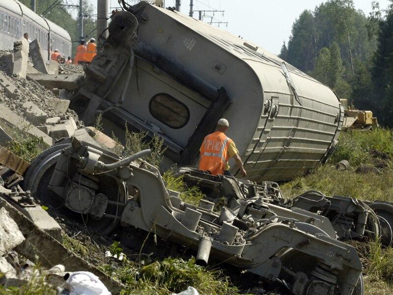 Autoridades russas: acidente com trem foi terrorismo