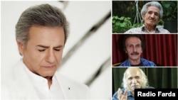عارف و سه ترانهسرای مهمان جشن ۸۰ سالگیاش: محمدعلی شیرازی، سعید دبیری و علیرضا طبایی