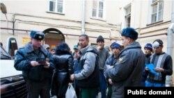 Таджикские мигранты в России. Архивное фото