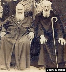Брати Шептицькі. Митрополит УГКЦ Андрей (ліворуч) і архимандрит УГКЦ Климентій Шептицький