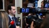 Prezident Başar al-Assad interwiýu berýär