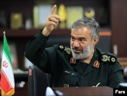 IRGC Deputy Commander Ali Fadavi (file photo)