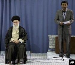 Mahmud Ahmadinedžad i ajatolah Hamnei