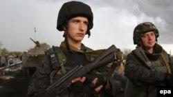 Солдаты у Краматорска