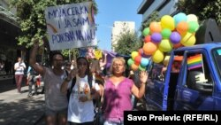 Pamje nga Parada e Krenarisë sot në Podgoricë