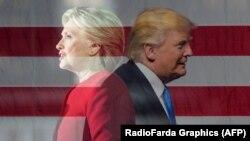 Hilari Klinton we Donald Tramp