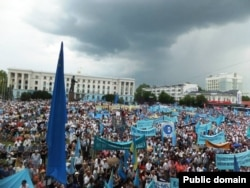 Всекримський мітинг у Сімферополі 18 травня 2013 року