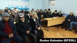 """""""Кыргызнефтегаз"""" боюнча чогулуш."""