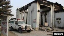 شفاخانه سازمان داکتران بدون سرحد در کندز