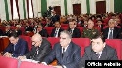 Ҷаласаи васеи ҳукумати Тоҷикистон дар шаҳри Душанбе