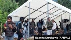Migrantët në Bosnje.