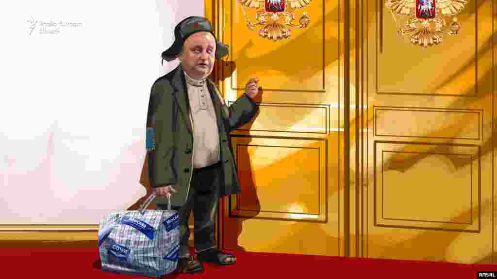 Igor Dodon i-a bătut pragul lui Vladimir Putin de i s-au ros papucii.