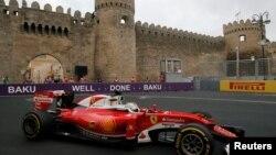 Bakıda 1-ci Formula 1 yarışması
