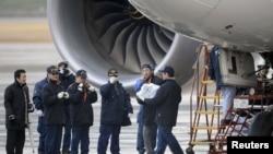 Boeing 787 Dreamliner təyyarəsi (arxiv fotosu)