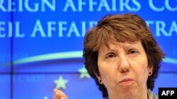 EU High Representative for Foreign Affairs and Security Policy Catherine Ashton (file photo)