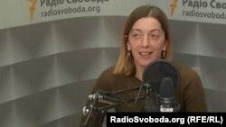 Journalist Katerуna Sergatskova (file photo)