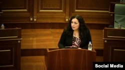 Vjosa Osmani, kandidate e LDK-së për kryeministre