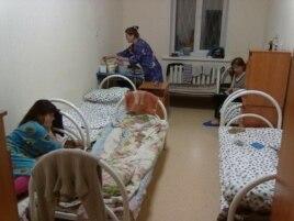 Женская комната в кемеровском СУВСИГе