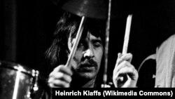 Ли Керслейк на концерте в Гамбурге в феврале 1973 года