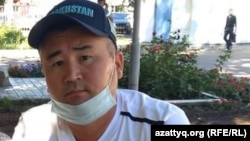 Орынбай Охасов, активист из Уральска