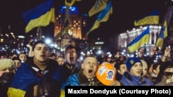 Майдан и война Максима Дондюка