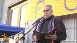 Րաֆֆի Հովհաննիսյանը հացադուլ սկսեց Ազատության հրապարակում