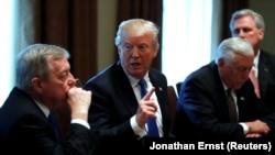 Трамп на той самой встрече с законодателями