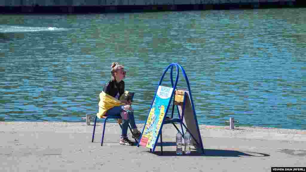 Морские прогулки на катерах начали предлагать на набережной Корнилова