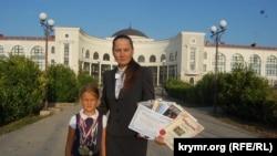Людмила Ключинская с дочкой