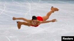 Аделіна Сотникова на Олімпіаді в Сочі, 2014 рік