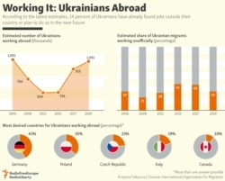 INFOGRAPHIC: Working It: Ukrainians Abroad