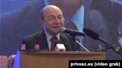 """Traian Băsescu spune că PMP va demasca """"minciuna suveranismului"""" care este pe cale să destrame UE"""