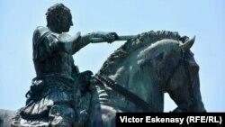 Celebrul monument al condotierului Gattamelata de la Padova
