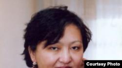 Пропавшая журналистка Оралгайша Омаршанова. Алматы, 2007 год. (Фото из личного архива).