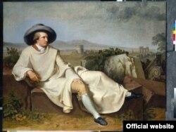 Johann Heinrich Wilhelm Tischbein, Goethe in the Roman Campagna. 1787. Städel Museum, Frankfurt am Main Photo: © U. Edelm