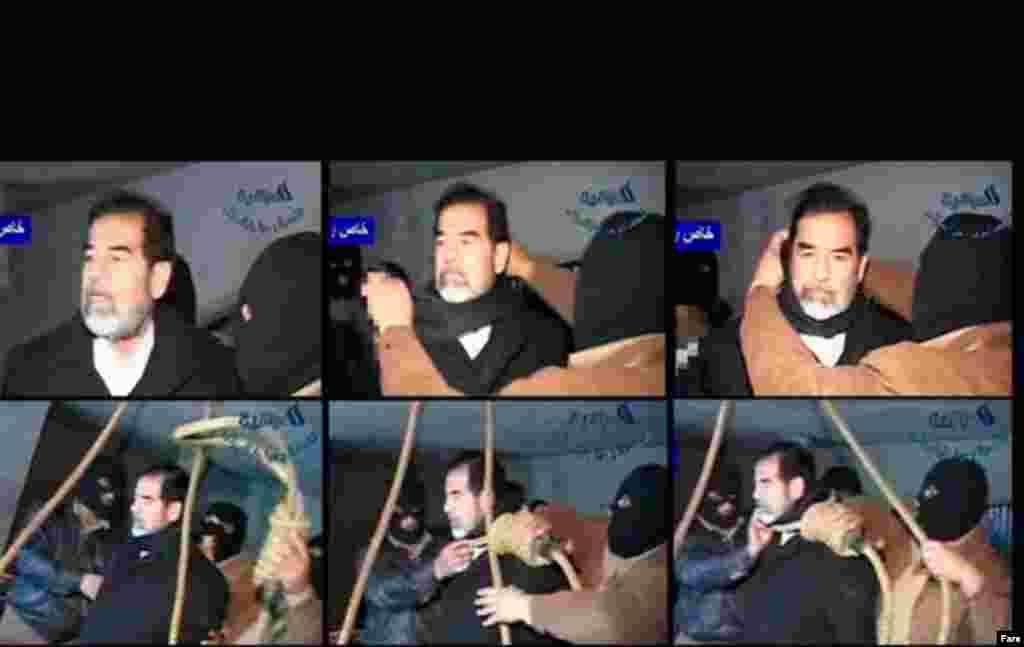 در ۳۰ دسامبر سال ۲۰۰۶ شبکه آمریکایی الحره اعلام کرد که حکم صدام حسین در ساعت ۶:۰۵ بامداد به وقت محلی به اجرا درآمد. .