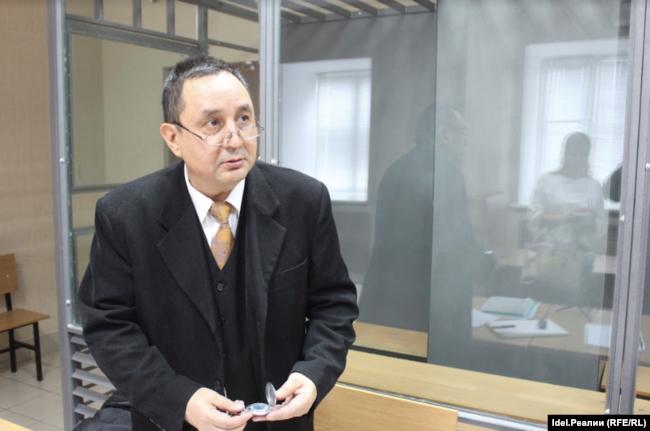 Роберт Загреев на судебном заседании