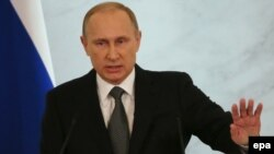 Russiýanyň prezidenti Wladimir Putin. 4-nji dekabr, 2014 ý.