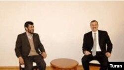 Azərbaycan və İran prezidentləri arasında görüş, Naxçıvan, 21 dekabr 2005