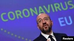 Претседателот на Европскиот совет Шарл Мишел