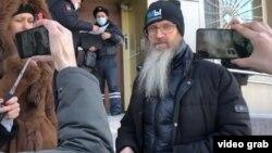 Андрей Винарский после суда, Хабаровск, 10 марта 2021 года