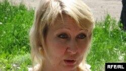 Теміртау қаласындағы «Отражение» қоғамдық экологиялық ұйымы жетекшісі Елена Варганова. Теміртау, 3 маусым 2010 жыл.