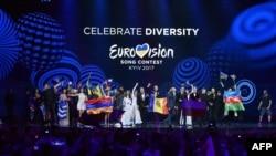 """2017-жылы майда Украинада өткөн """"Eurovision"""" сынагы."""
