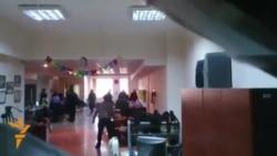 Обыск в бакинском бюро Радио Свобода